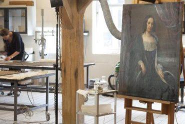 De Conservation Workshops in de Danish Art Workshops in Kopenhagen
