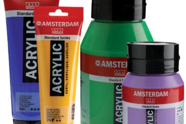 Amsterdam Acrylic Standard Series.