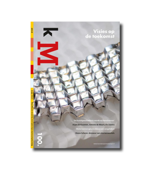 Cover kM (kunstenaarsmateriaal) 100 webshop
