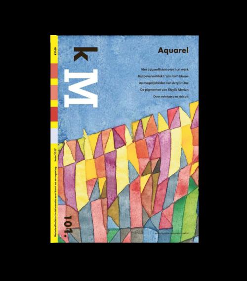 Cover kM (kunstenaarsmateriaal) 101 webshop