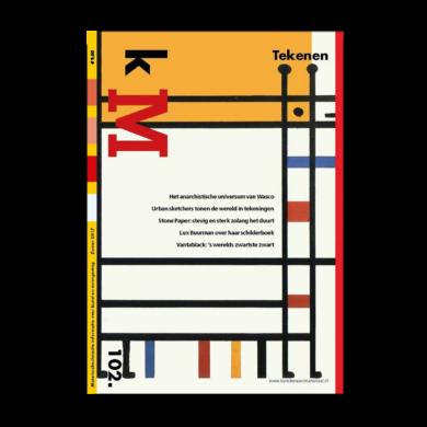 Cover kM (kunstenaarsmateriaal) 102 webshop