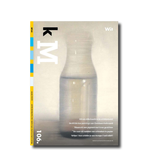Cover kM (kunstenaarsmateriaal) 106 webshop