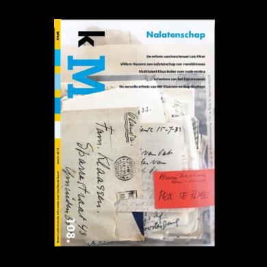 Cover kM (kunstenaarsmateriaal) 108 webshop