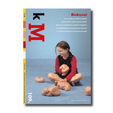 Cover kM (kunstenaarsmateriaal) 109 webshop