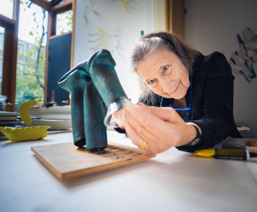 Helly Oestreicher (foto: Auke Hamers).