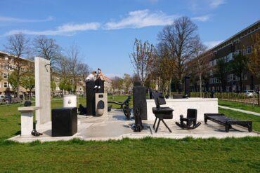 Kunst in de openbare ruimte van Matthew Darbyshire.